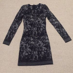 French Connection Jackie Jacquard sweater dress